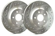 SP Performance Front Rotors for 2010 CSX  | Drilled Slotted Zinc F19-347-P.909