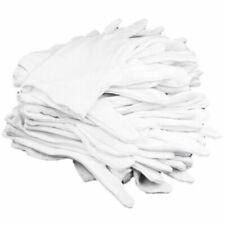 12 Pairs 100 Cotton White Moisturising Lining Glove Health Music Work J4t5 1z