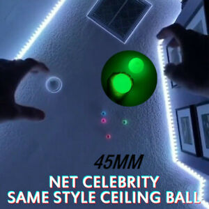 Balls Throw At Ceiling Decompression Ball Sticky Target Balls Decompression Toy