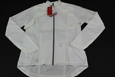 Trek / Bontrager Woman's Vella Convertible Windshell Jacket White Size M