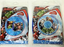 Marvel Avengers Heroes Kids Swim Ring Tube and Floaties Arm Floats - New