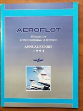 AEROFLOT-SOVIET AIRLINES  1992 ANNUAL REPORT --  IN ENGLISH