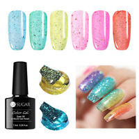 UR SUGAR 7.5ml Gellack Holografisch Gelee Gel Polish Glitter Soak Off UV Gel