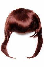 Clip-In Pony Extension long Mèches latérales 30cm Rouge brun (35) TYQ055-35