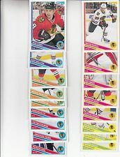 13/14 OPC Chicago Blackhawks 17 card Team Set - Bickell Crawford Toews Kane +