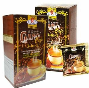 2 Box Gano Cafe 3 in 1 Coffee Gano Excel Gonoderma Extract - Exp 2021 DHL FAST