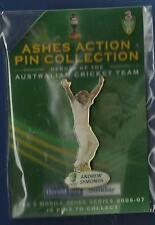 ANDREW SYMONDS  THE ASHES   CRICKET  -- PIN BADGE