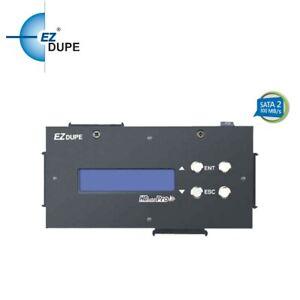 EZ Dupe 1 to 3 SATA Hard Drive / SSD Duplicator & Compact Sanitizer 18GB/Minute