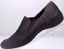 6b93f242a05 Paul Green Loafers Slip On Comfort Moc Toe Leather Flats Women s 6.5 US 9  Brown