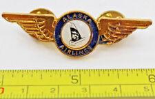 Alaska Airlines Metal Wings Airplane Pilot Collectible Pin