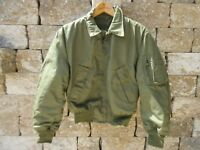 Us Army Air Force Flight Jacket Cwu 36P USAF Vietnam Cold Weather 2