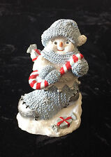 Snow Buddies Christmas Buddy In Stocking 94667 Blue And White