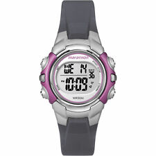 Timex T5K646, Women's Marathon Resin Watch, Indiglo, Alarm, Stopwatch, T5K6469J