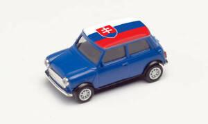 Herpa 420815 Mini Cooper Em 2021, Slovakia, Car Model 1:87 (H0)