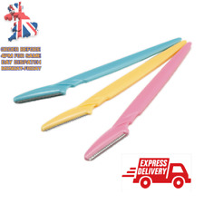 Eyebrow Razor Trimmer Shaper Dermaplaning Blades Facial Hair Shaver