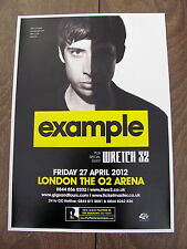 EXAMPLE PLAYING IN THE SHADOWS EUROPEAN TOUR 2012 LONDON A4 POSTER
