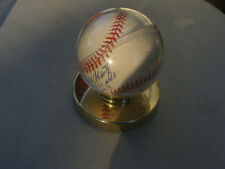 Rawlings Official Ball Nat. League Cushioned Cork Center RO-N Stand Autographs
