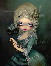 Jasmine Becket-Griffith art BIG print SIGNED Marie Masquerade antoinette french