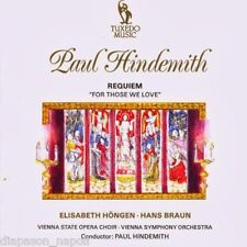 Hindemith: Requiem For Those We Love / Hindemith - CD