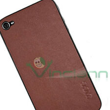 ZAGG Leather Skin vera pelle SMOOTH Tan per iPhone 4 4S