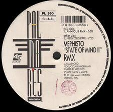 MEPHISTO - State Of Mind II (Remix) - 1993 Palmares Italy - PL 360
