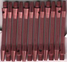 2in. 2ba Pink Aluminum Dart Shafts: 3 per set