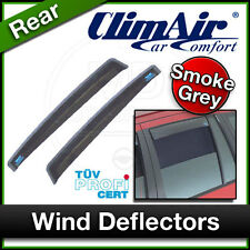CLIMAIR Car Wind Deflectors NISSAN NAVARA 4 Door Pick Up 2002 to 2004 REAR