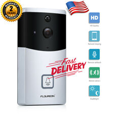 Wifi Video Doorbell Smart Real-Time 720P Hd Security Cam App for Ios & Android
