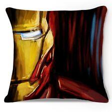 Iron Man Stack Marvel Superhero Throw Pillow Case Cushion Cover Sofa Decorative