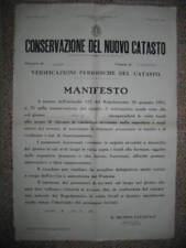 MD 166 manifesto 1938 saletto padova