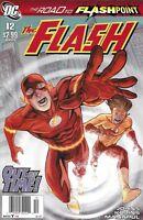 Flash Comic 12 Cover A First Print Geoff Johns Scott Kolins Francis Manapul 2011