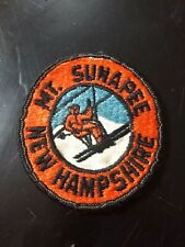 Vintage 1950s/60s Mt. Sunapee NH single chair ski patch
