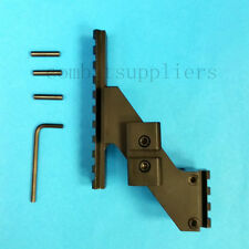 Metal Universal Pistol Tactical Rail Mount Picatinny Rail Weaver-- Fast Shipping