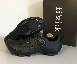 Fizik Terra X5 Men's Mountain Bike Shoes Boa 41 EU 8 1/4 US Black NEW