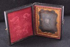 Used Small Daguerreotype Photograph in Original Case - ANTIQUE