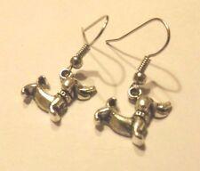 Ohrringe Silber Hund Dackel