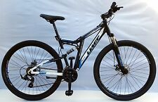 "MOUNTAINBIKE 29"" UMT ALU FULLY MTB, 21 SHIMANO, DISC BRAKE SPARKLE ZOOM VORBAU b"
