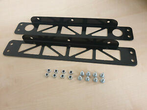 Mocal oil cooler mounting plates.