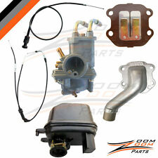Yamaha PW 50 Carburetor Air Filter Intake Valve Throttle Choke Cable 2003-2013