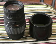 Sigma AF 70-300mm f4-5.6 DG Lens 70-300/4-5.6 for Canon