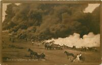 California Fire #26 C-1910 Oil Industry Postcard California Sales 20-6493
