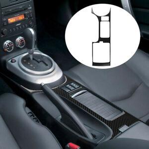 Karbonfaser Schalthebel Abdeckung Trim Frame passt für Nissan 350Z 2006-2009