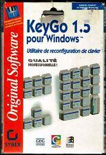KeyGo 1.5 avec Disquette+guide de l'utilisateur .  Pour  Windows 3.1 ou +++.