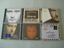 PHIL COLLINS job lot of 6 CD albums Face Value No Jacket Required Both Sides