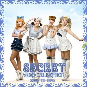 KPOP  Memorabilia Secret Collection  2009 to 2016