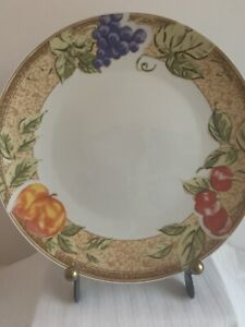 Two Gibson Fruit Grove Dinner Plates (have 6)