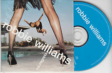 CD CARDSLEEVE CARTONNE ROBBIE WILLIAM NO REGRETS 3T DE 1998 TBE