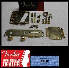 FENDER American Telecaster Vintage Aged Relic Gold Body Hardware Set - USA Tele