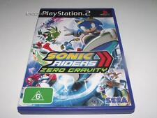 Sonic Riders Zero Gravity PS2 PAL *No Manual* Free Post