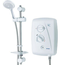 Triton SP8001ZFF Electric Shower - White/Chrome